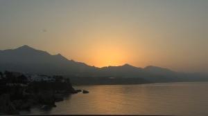 Mediterranean coast sunrise 3a