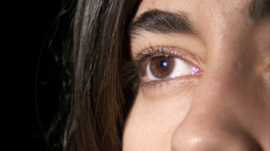 woman close-up
